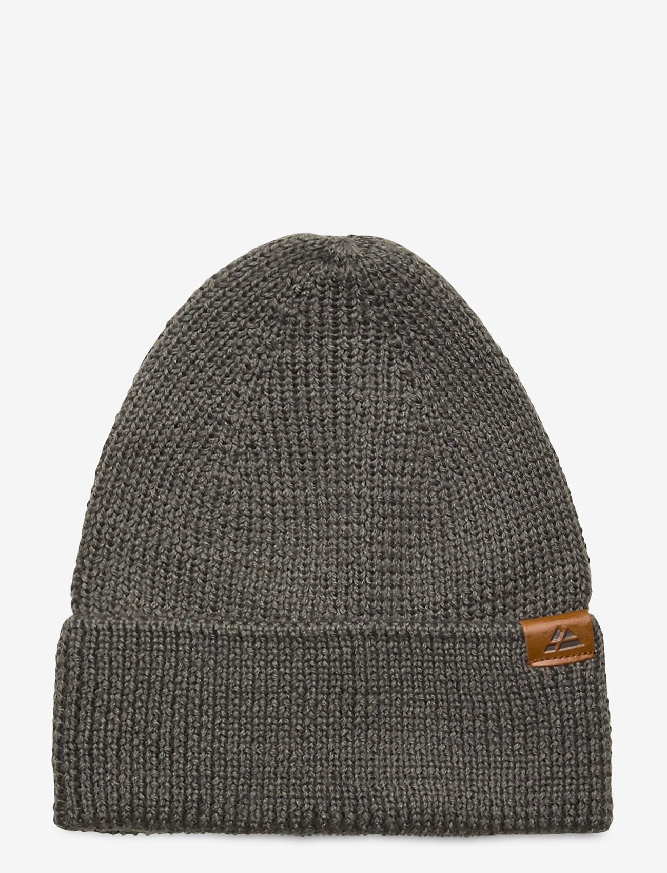 Danish Endurance - Merino Blend Beanie 1-pack - bonnet - grey - 0