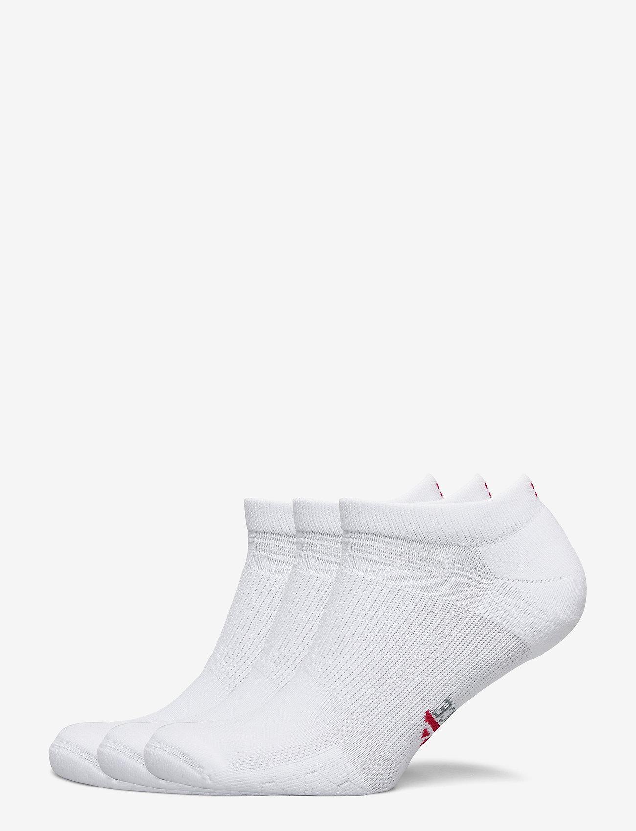 Danish Endurance - Low Cut Long Distance Running Socks 3 Pack - kousen - white - 0