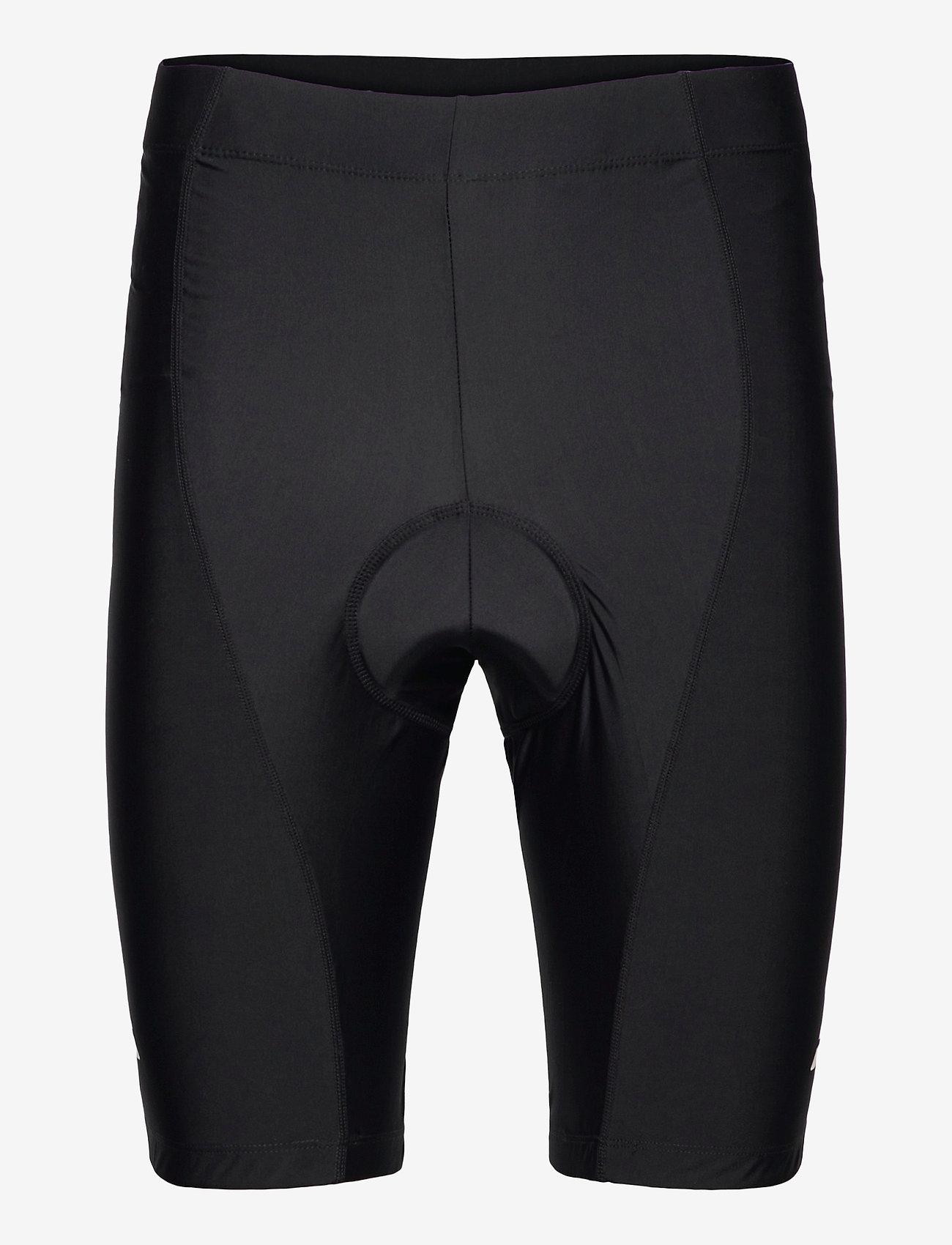 Danish Endurance - Mens Cycling Shorts 1 Pack - wielrenshorts & -leggings - black/black - 0