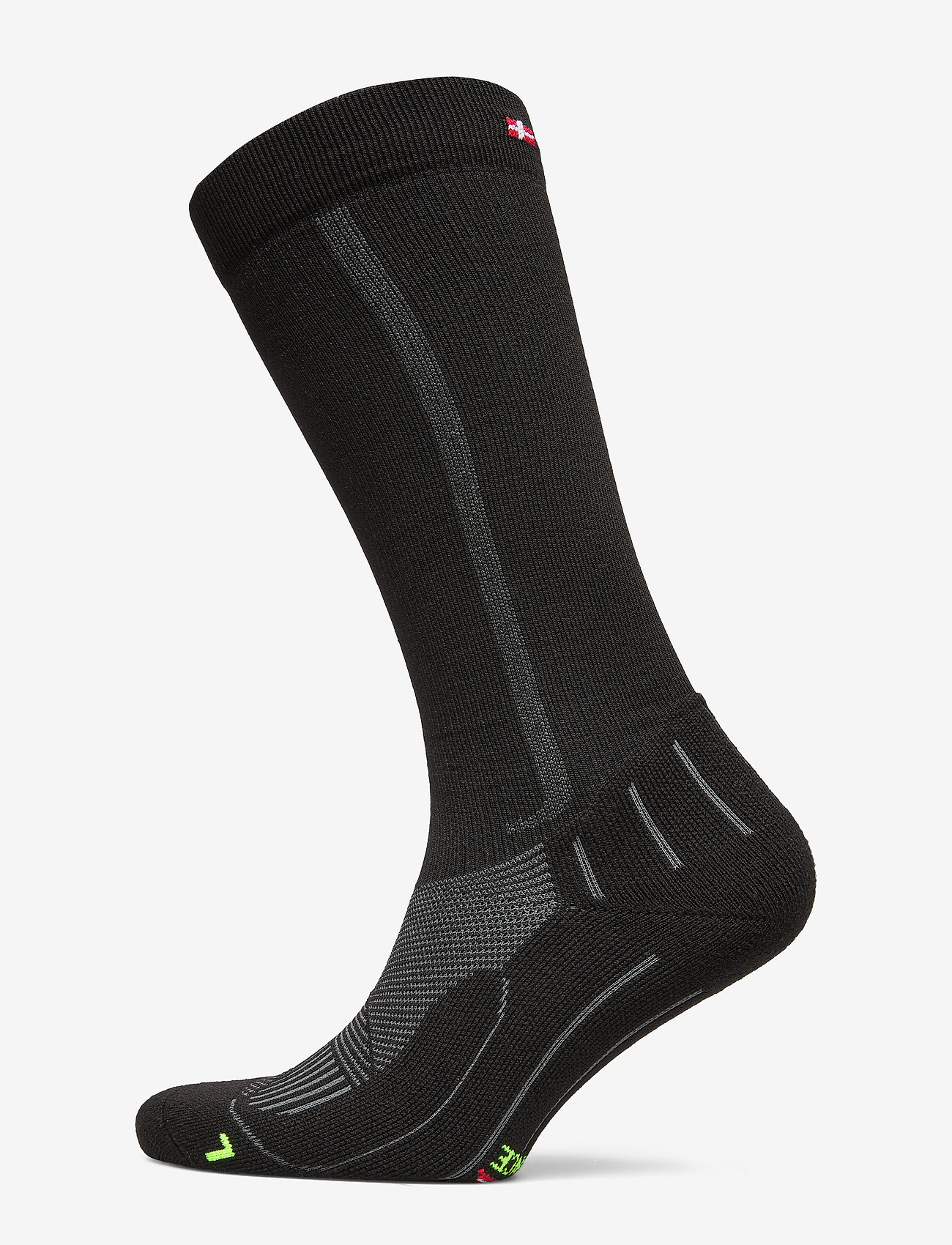 Danish Endurance - Compression Socks 1 Pack - regulære sokker - black/grey - 0