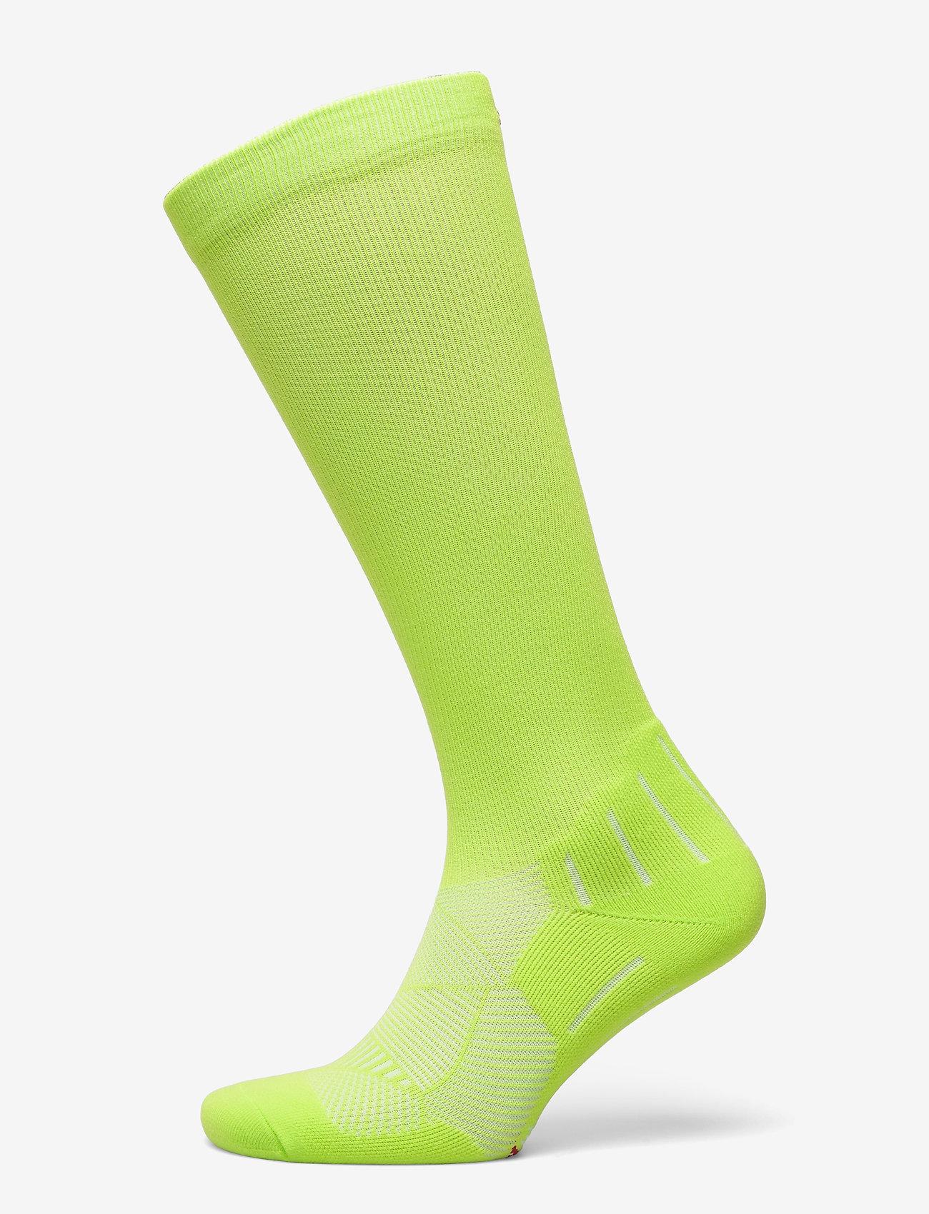 Danish Endurance - Compression Socks 1 Pack - kousen - neon yellow - 0