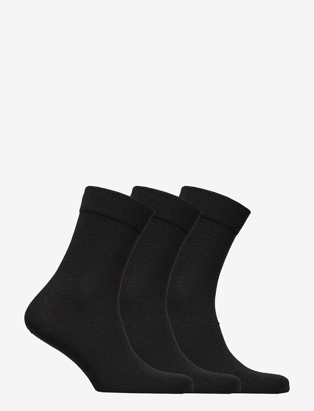 Danish Endurance - Merino Blend Dress Socks 3 Pack - kousen - black - 1