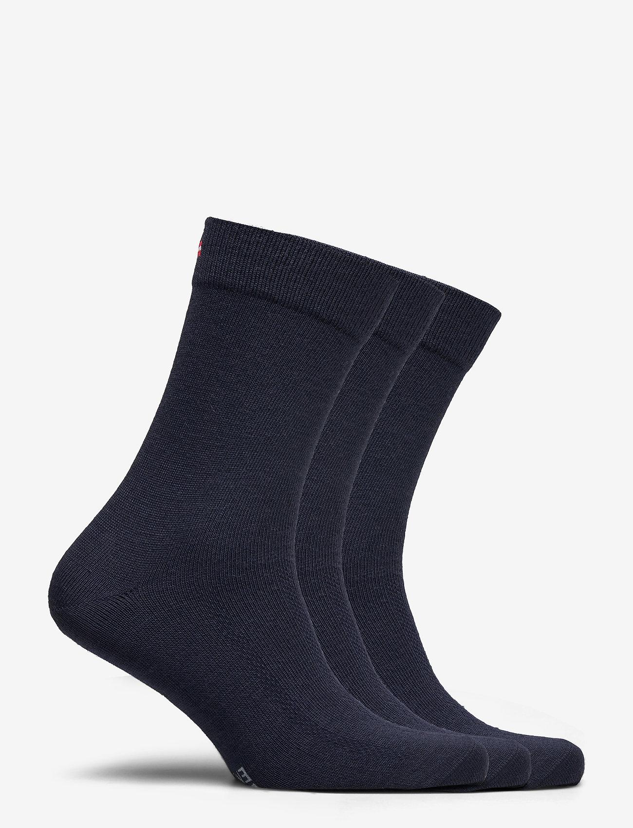 Danish Endurance - Merino Blend Dress Socks 3 Pack - kousen - navy blue - 1