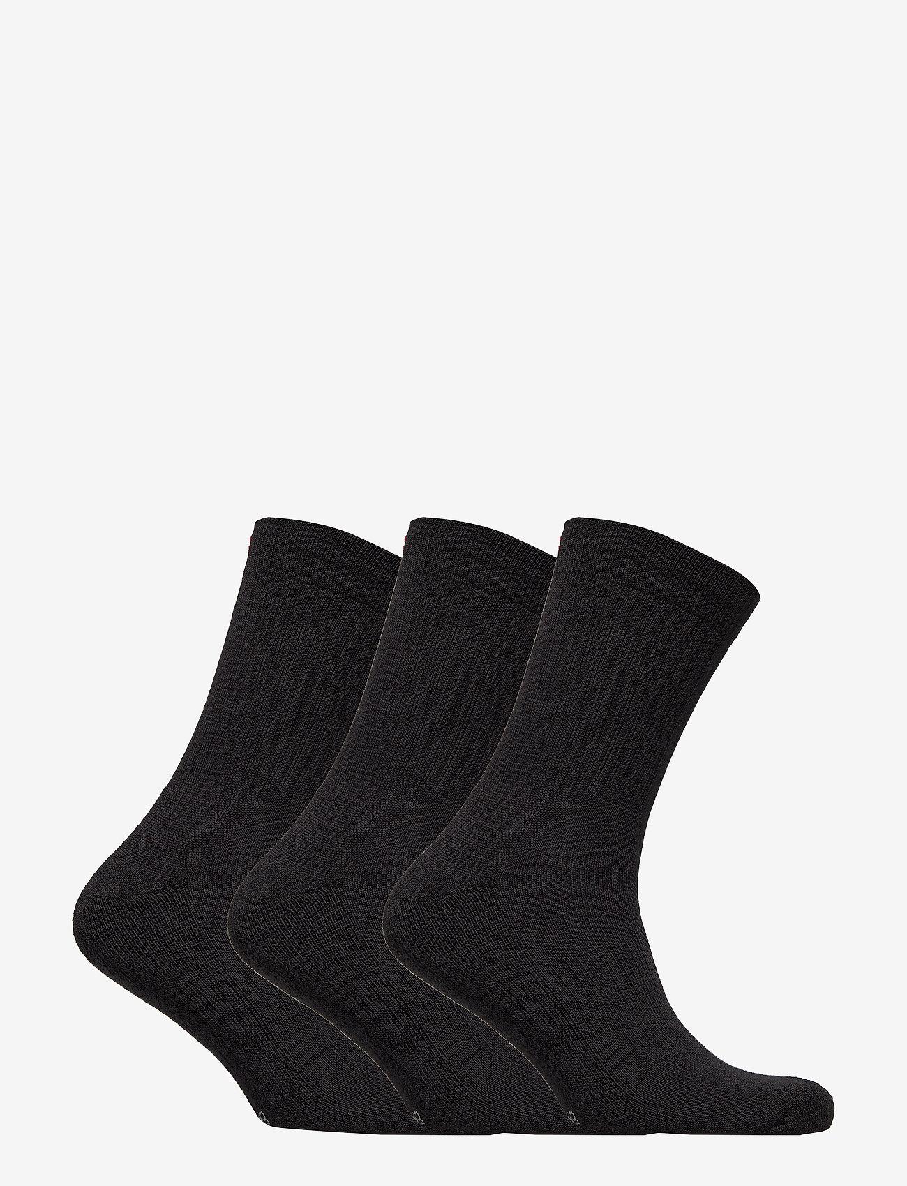 Danish Endurance - Tennis Performance Crew Socks 3 Pack - sokker - black - 1