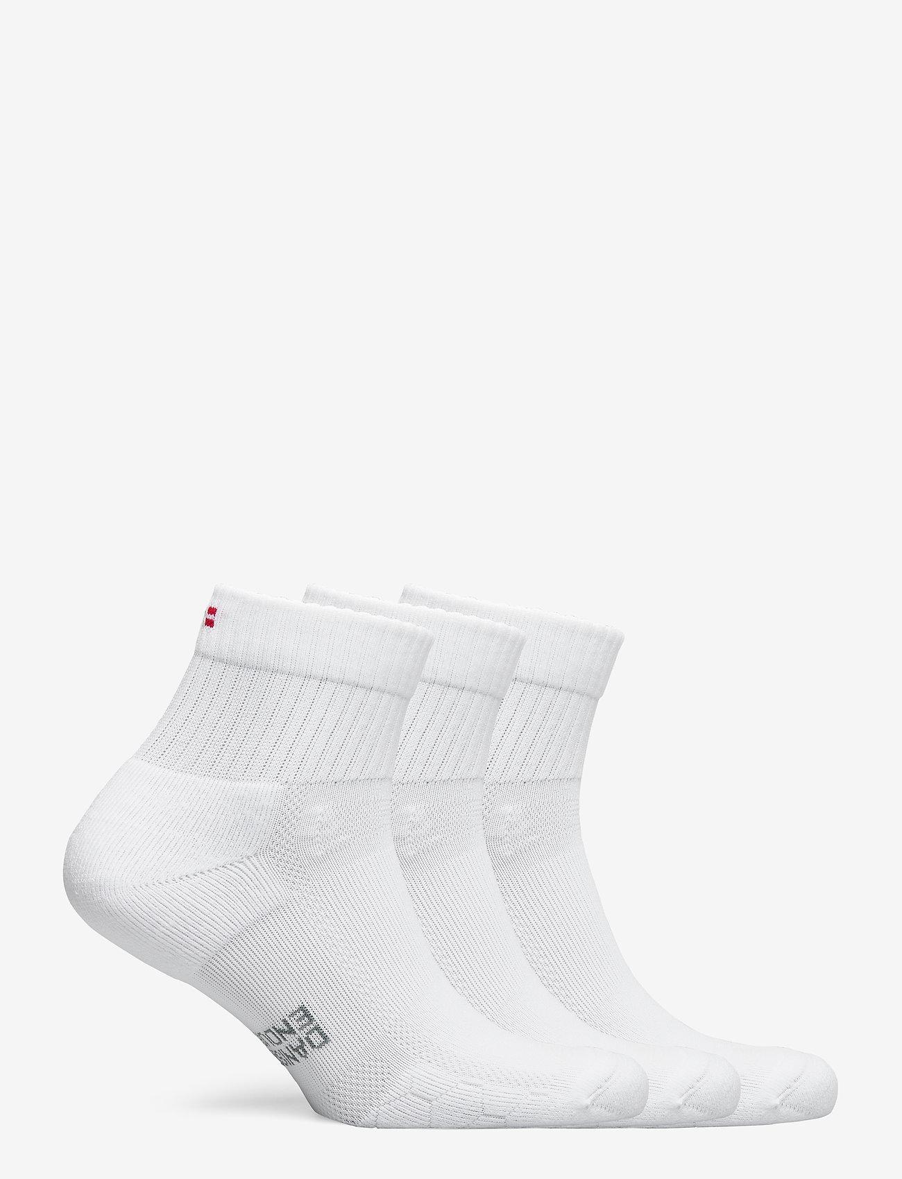 Danish Endurance - Long Distance Running Socks 3 Pack - kousen - white - 1