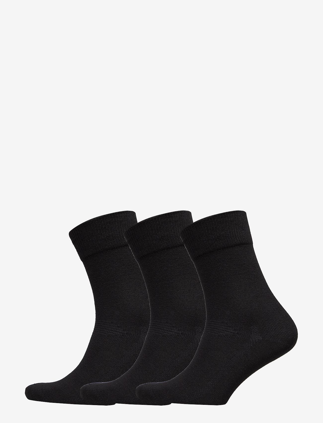 Danish Endurance - Bamboo Blend Dress Socks 3 Pack - kousen - black - 0