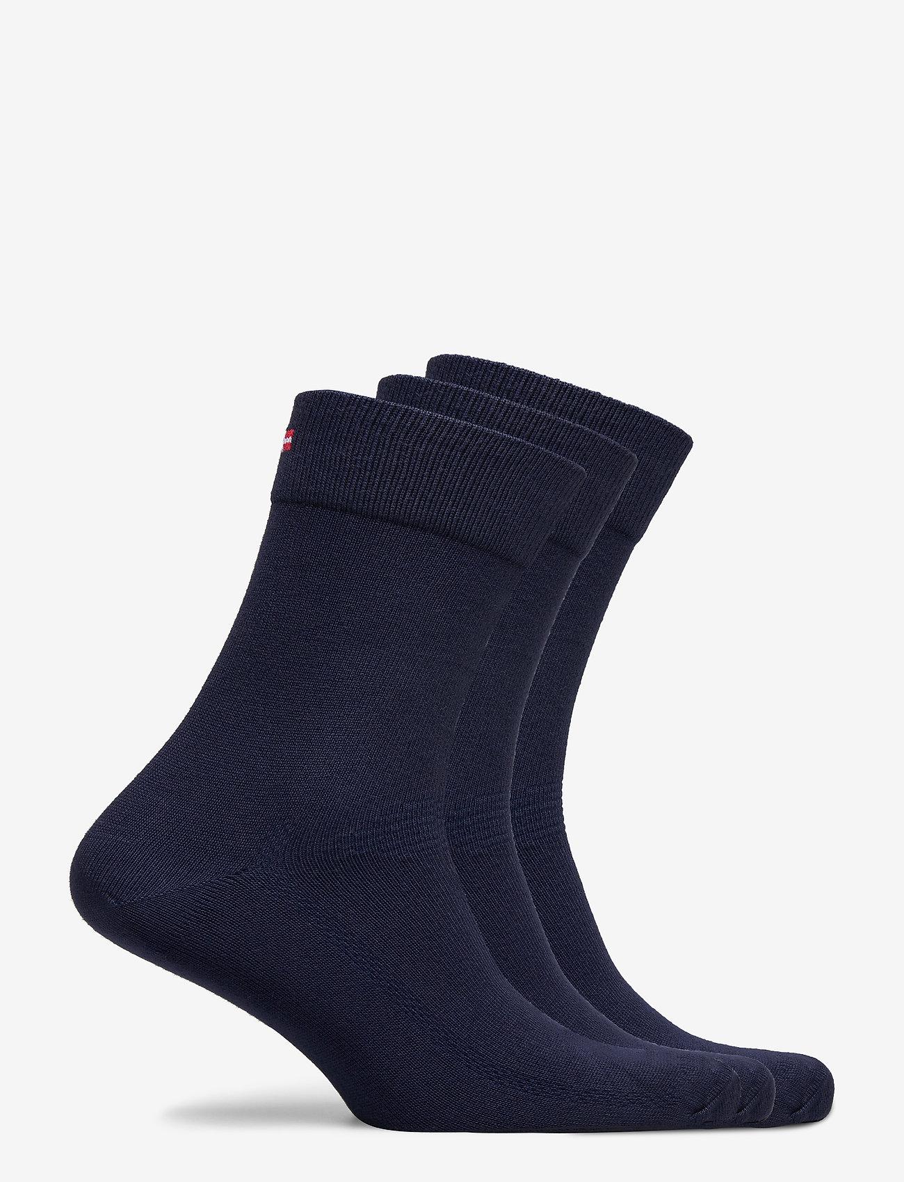 Danish Endurance - Bamboo Blend Dress Socks 3 Pack - kousen - navy blue - 1