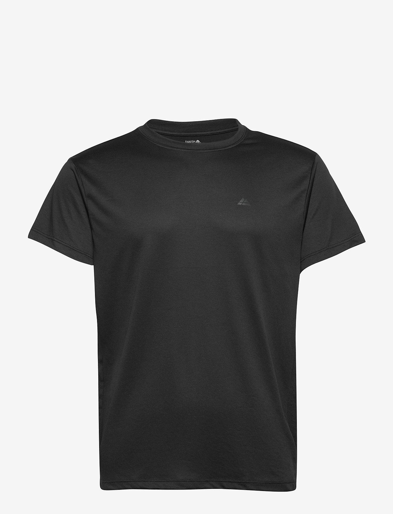 Danish Endurance - Male Sport T-Shirt 1 Pack - t-shirts - black - 0