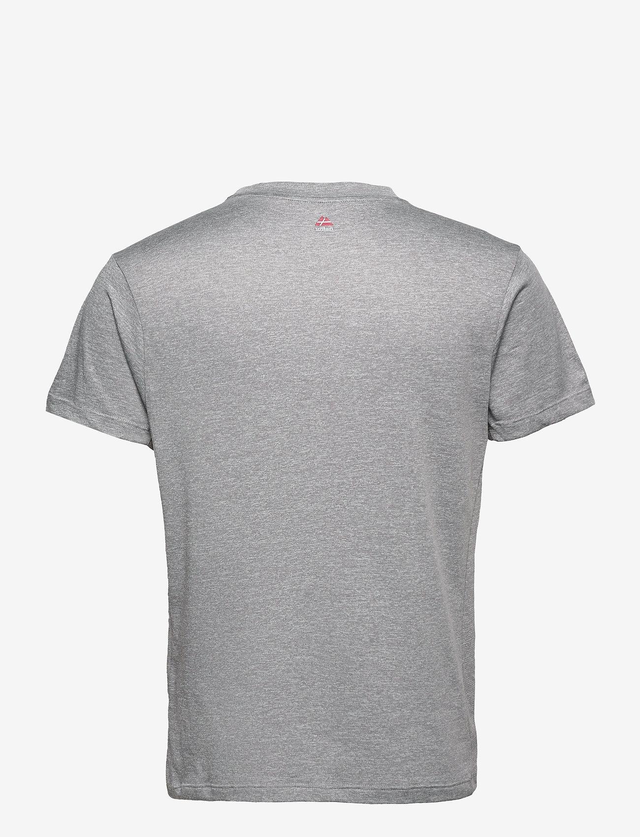 Danish Endurance - Male Sport T-Shirt 1 Pack - t-shirts - grey - 1