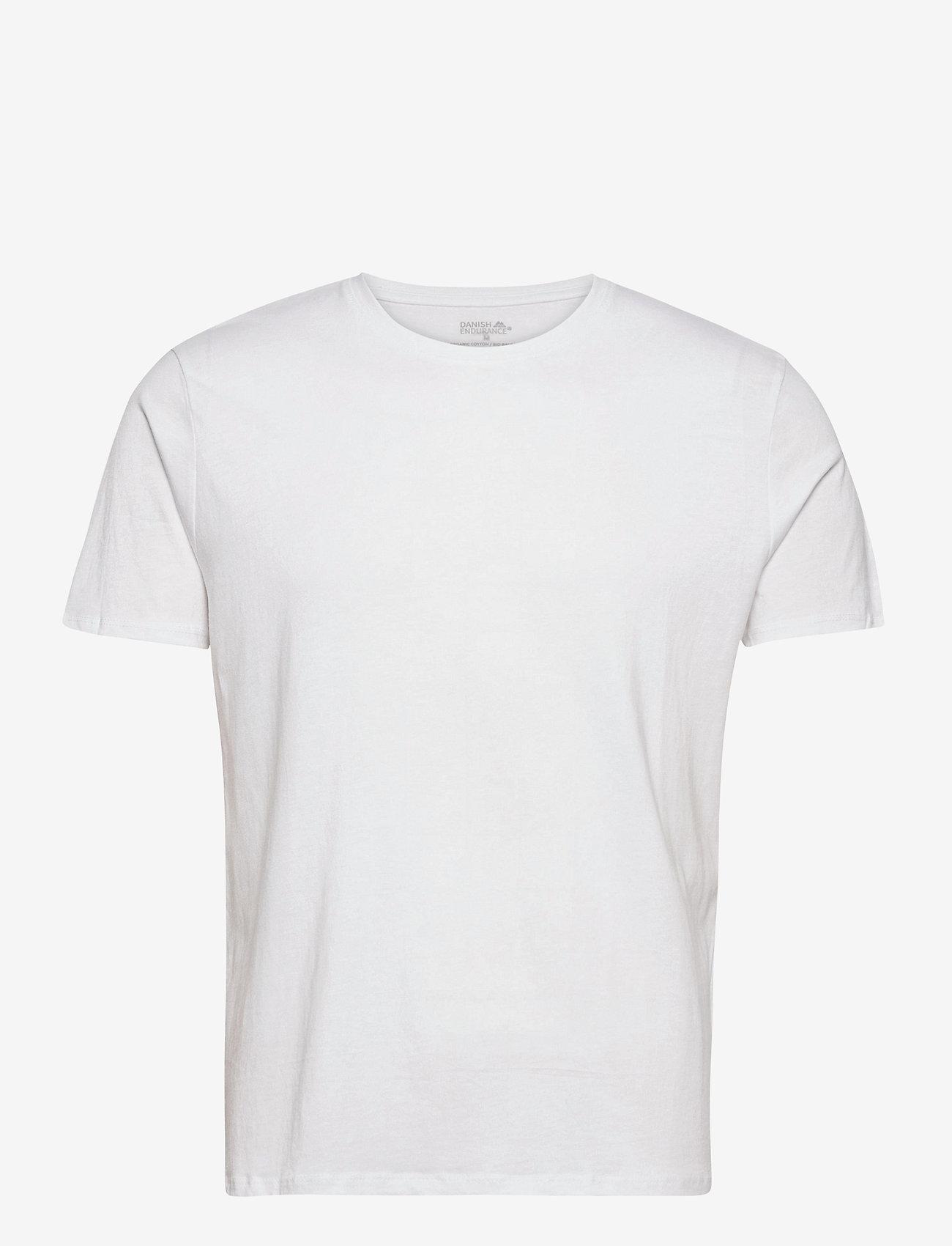 Danish Endurance - Men's Crew Neck Organic T-Shirt 1 Pack - t-shirts - pure white - 0