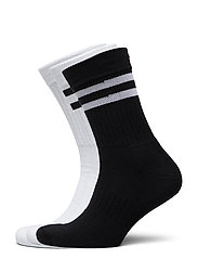Tennis Performance Crew Socks 3 Pack - MULTICOLOUR (1X BLACK/WHITE, 1X WHITE, 1X WHITE/BLACK)