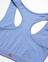Danish Endurance - Organic Cotton Bralette 3 Pack - zachte beha - multicolor (1x black, 1x grey mélange, 1x light blue) - 2
