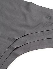 Danish Endurance - Microfiber Thong 3 Pack - slips - grey - 1