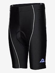Danish Endurance - Mens Cycling Shorts 1 Pack - wielrenshorts & -leggings - black/grey - 2