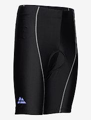 Danish Endurance - Mens Cycling Shorts 1 Pack - wielrenshorts & -leggings - black/grey - 3