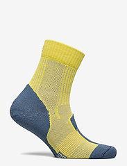 Danish Endurance - Merino Wool Light Hiking Socks 1 Pack - kousen - yellow/blue grey - 1