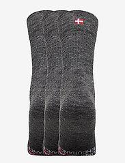 Danish Endurance - Merino Wool Light Hiking Socks 3 Pack - kousen - grey - 1