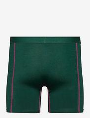 Danish Endurance - Sport Polyester Trunks 3 Pack - ondergoed - multicolor (1x black, 1x black/red, 1x green/purple) - 2