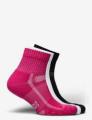 Danish Endurance - Long Distance Running Socks 3 Pack - kousen - multicolour (1x black, 1x pink, 1x white) - 2
