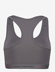 Danish Endurance - Microfiber Sports Bra 1 Pack - sportbeh''s: low - grey - 1
