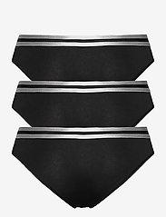 Danish Endurance - Organic Cotton Bikini Briefs by Pernille Blume 3 Pack - slips - black - 2