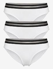 Danish Endurance - Organic Cotton Bikini Briefs by Pernille Blume 3 Pack - slips - white - 0