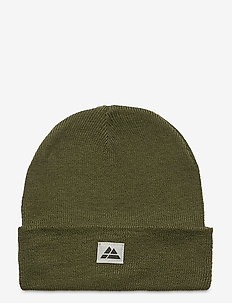 Beanie Recycled Polyester 1-pack - mutsen - green