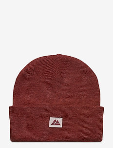 Beanie Recycled Polyester 1-pack - mutsen - red