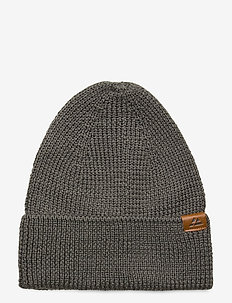 Merino Blend Beanie 1-pack - bonnet - grey