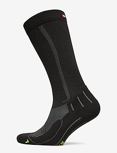 Compression Socks 1 Pack - tavalliset sukat - black/grey