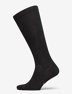 Organic Compression Socks 1 Pack - regular socks - black