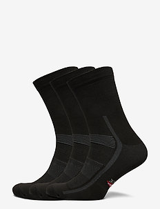 High Cycling Socks 3 Pack - normalne skarpetki - black