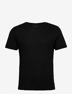 Men's Crew Neck Organic T-Shirt 1 Pack - sportoberteile - jet black