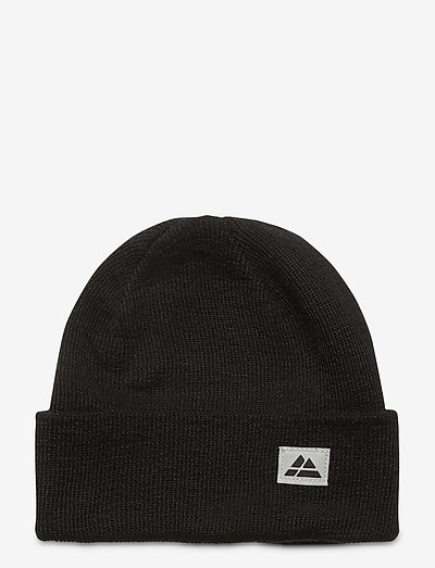 Beanie Recycled Polyester 1-pack - hats - black