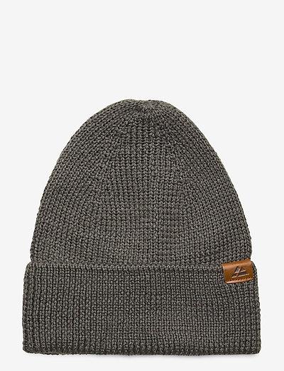 Merino Blend Beanie 1-pack - hats - grey