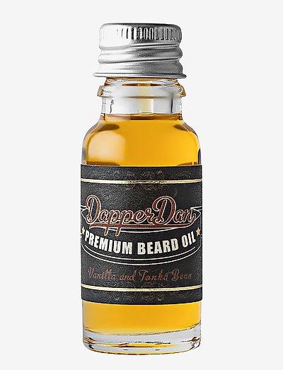Premium Beard Oil 15 ml - skjeggolje - clear
