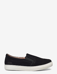 Daylily - slip-on sneakers - black