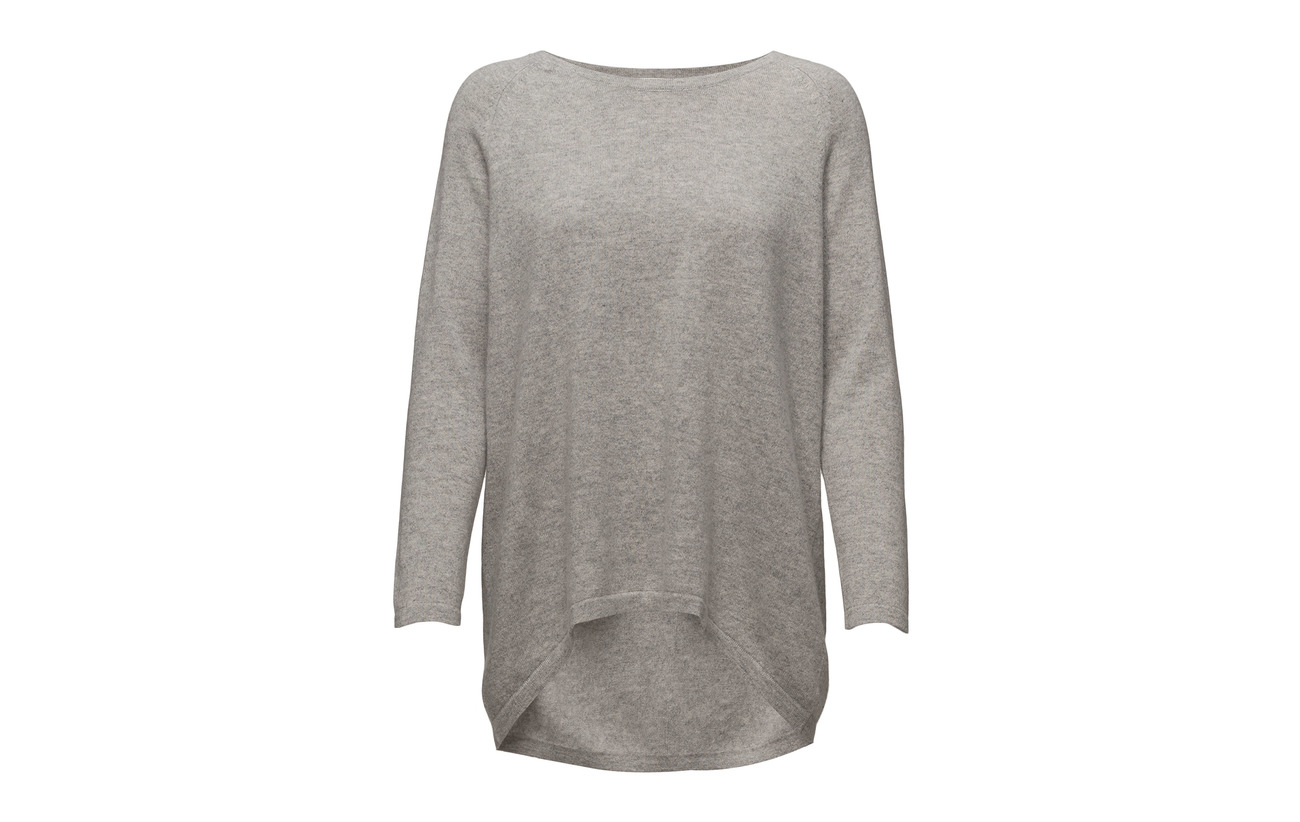 100 Sweater Cashmere Davida Blue Loose Cachemire Denim OUEUzXq