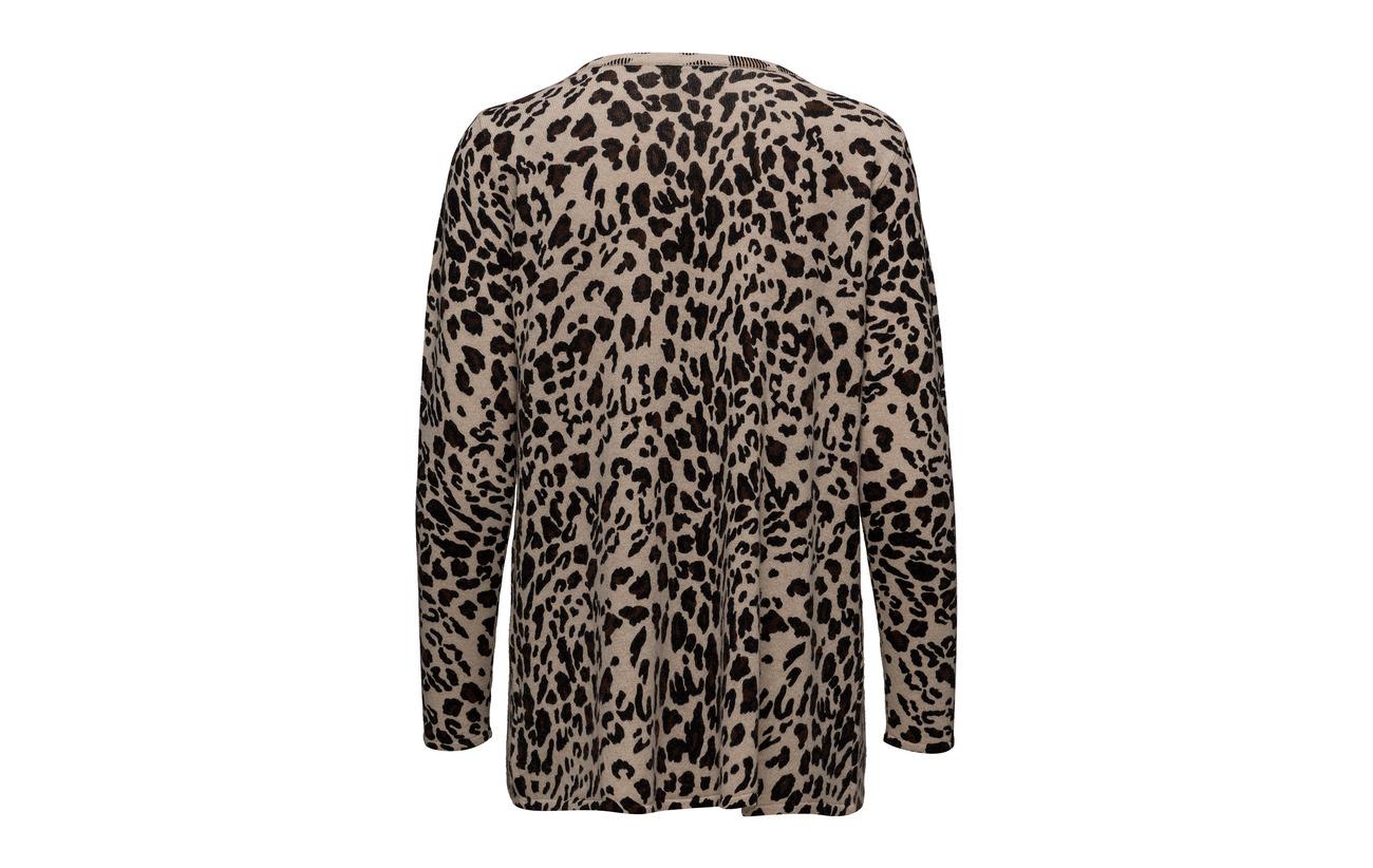 Cashmere Front Wrap Animal Cachemire Sweater Davida Light 100 dwaqvy
