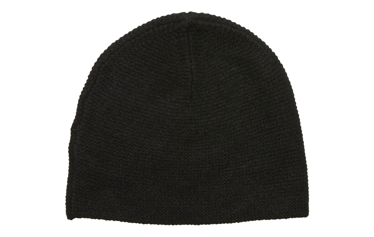 Davida Cashmere Structured Cap - BLACK