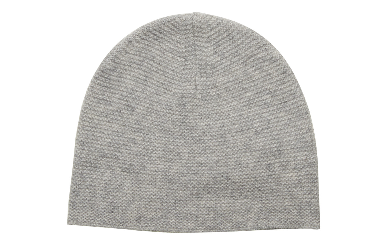 Davida Cashmere Structured Cap - LIGHT GREY