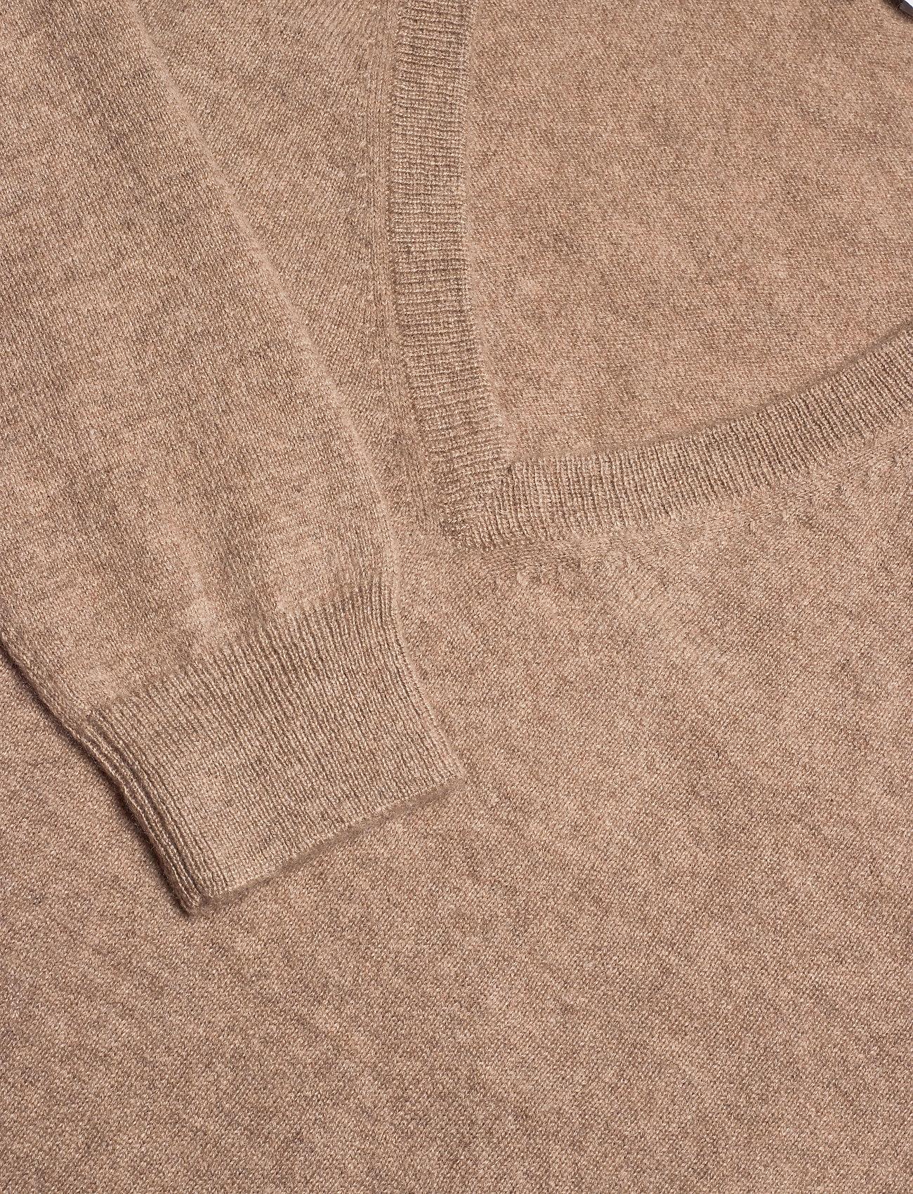 Davida Cashmere V-neck Loose Sweater - Stickat