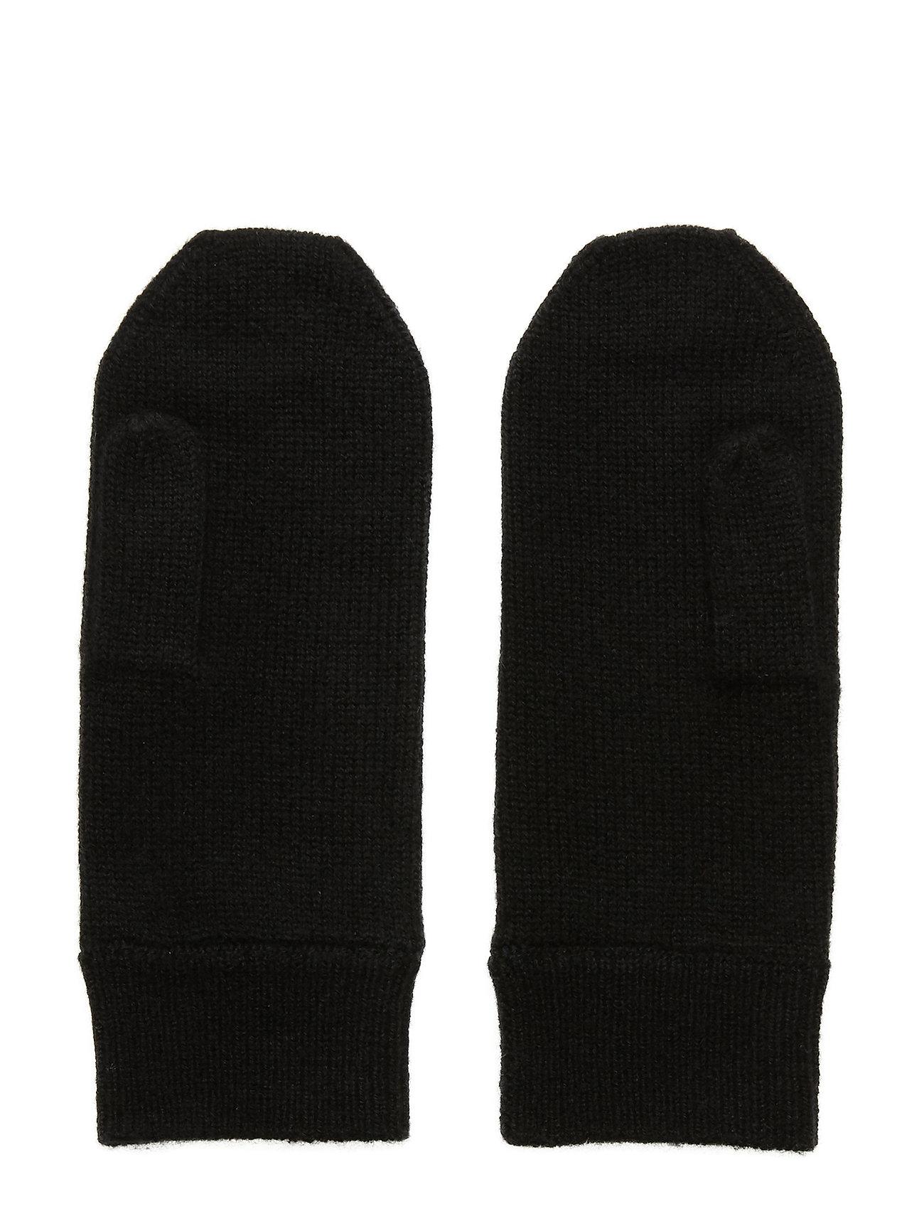 Davida Cashmere - Mittens - accessories - black - 1