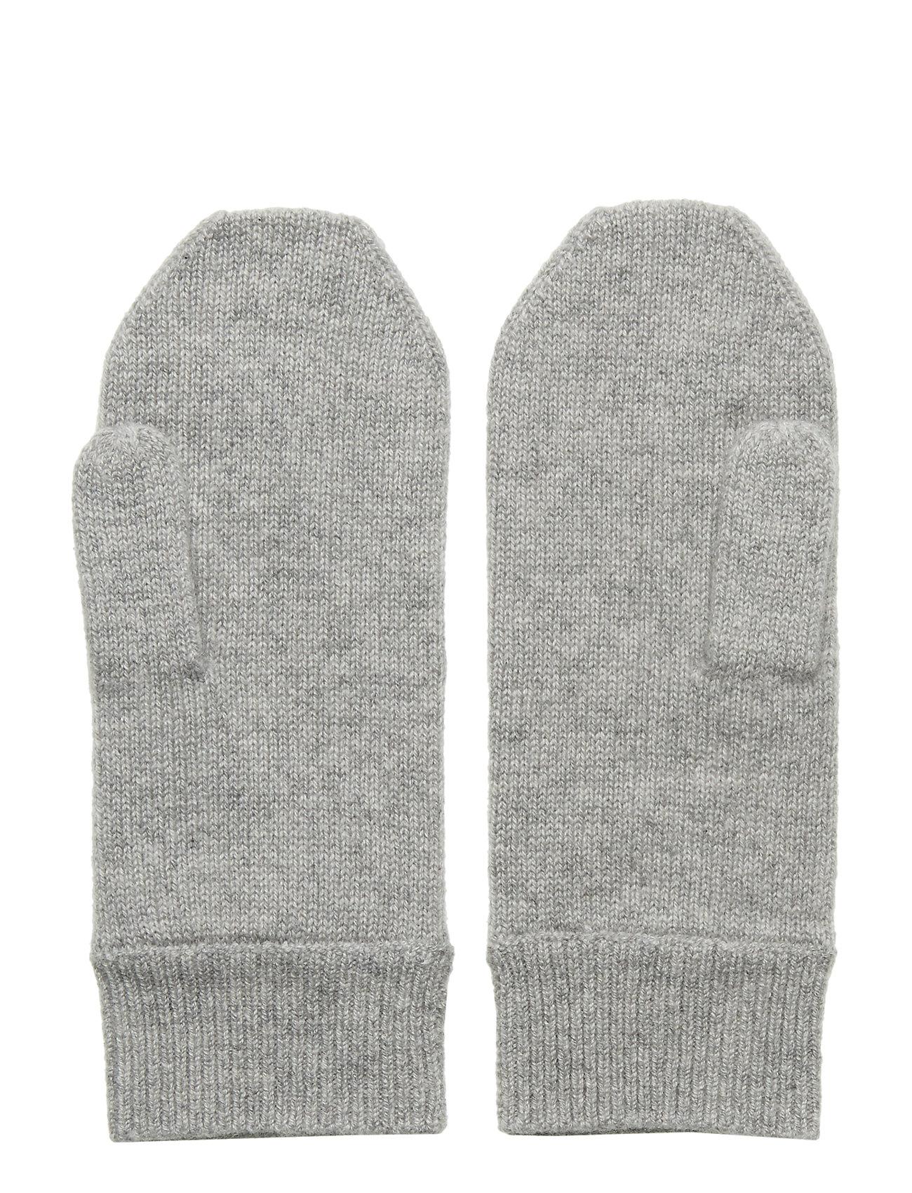 Davida Cashmere - Mittens - accessories - light grey - 1
