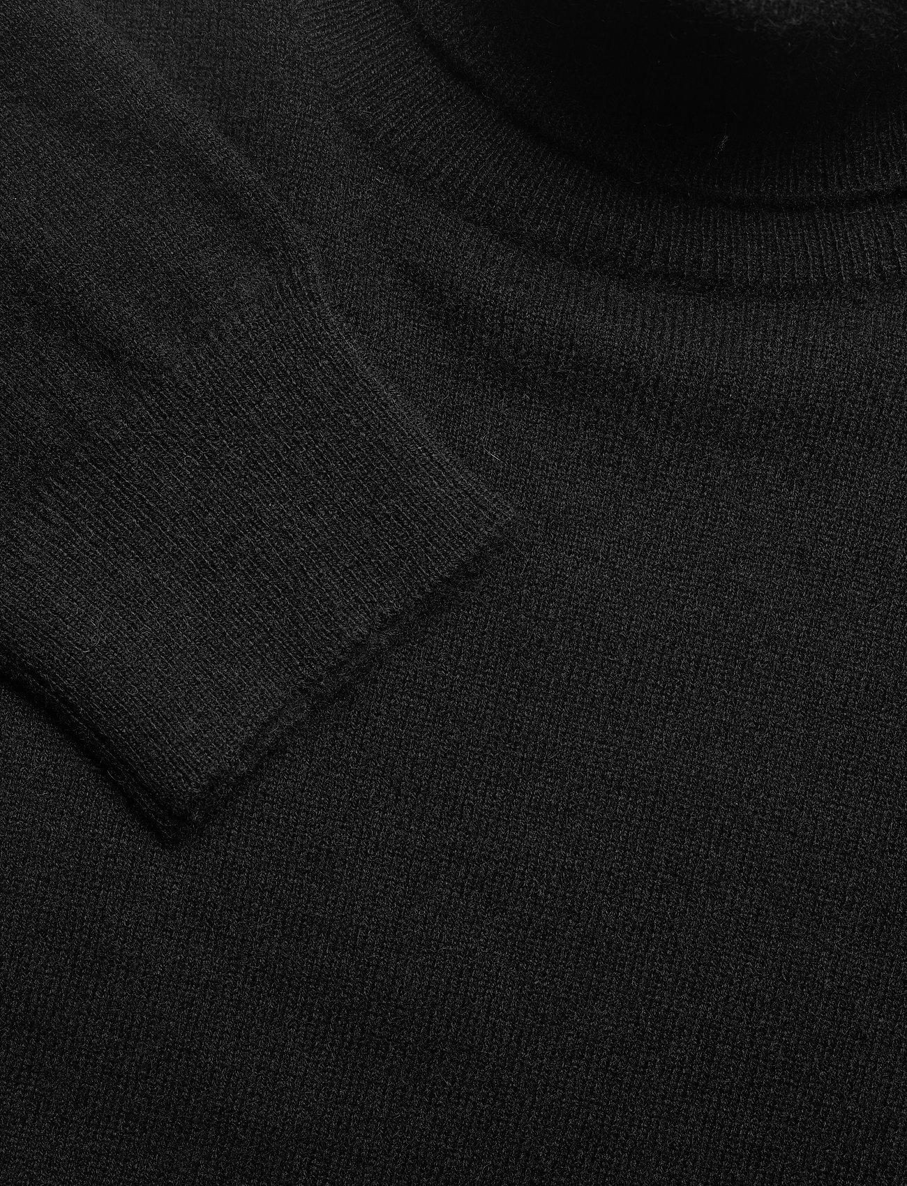 Davida Cashmere Man Turtleneck - Strikkevarer BLACK - Menn Klær