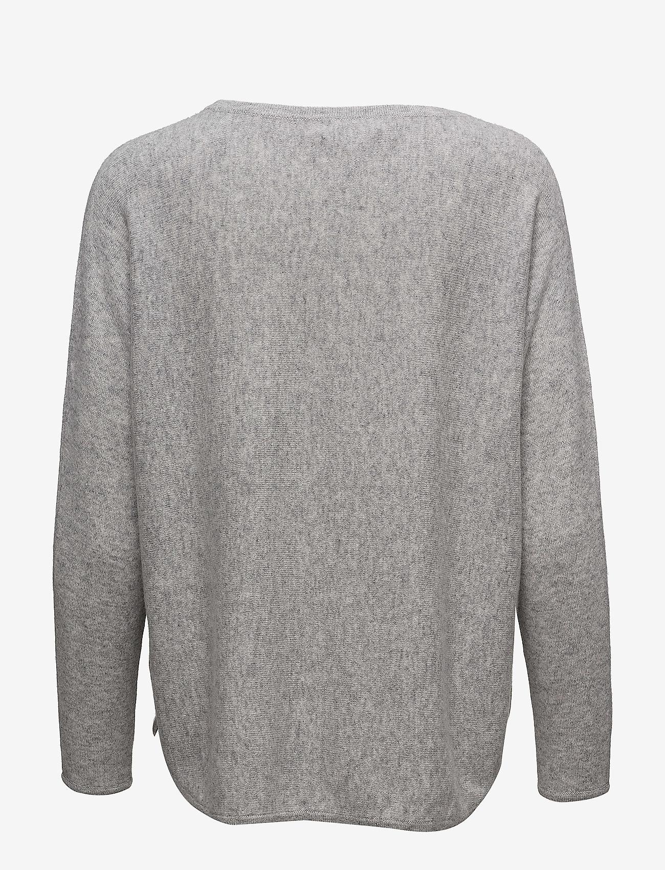 Curved Sweater  - Davida Cashmere