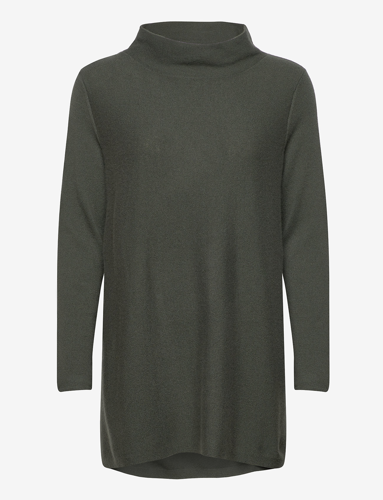 Davida Cashmere - Turtleneck Oversized - cashmere - army green - 0