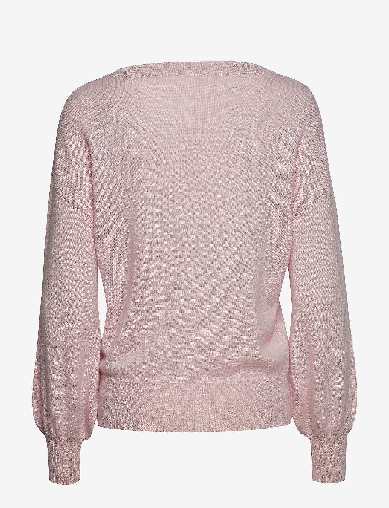 Balloon Sleeve Sweater  - Davida Cashmere