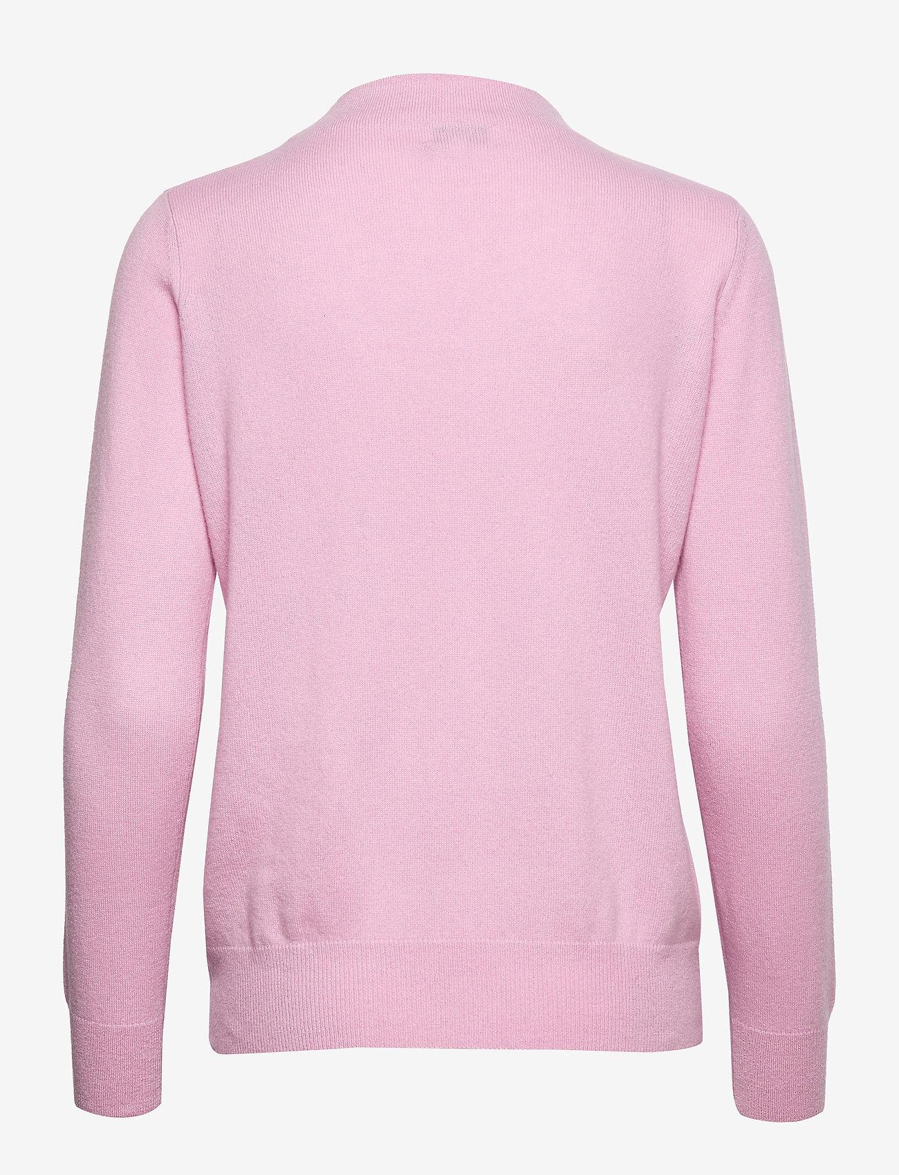 Funnel Neck Sweater (Pink) - Davida Cashmere CXwKOG