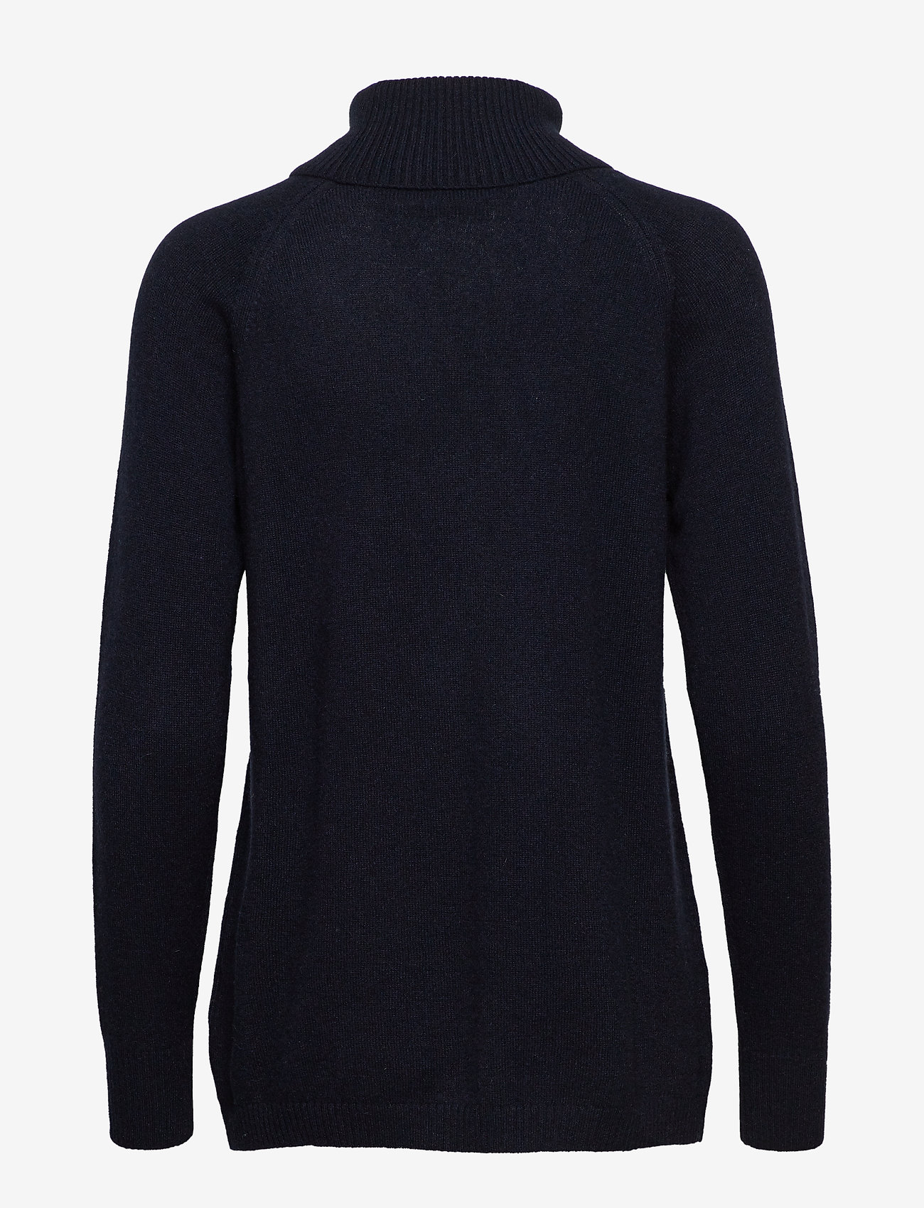 Raglan Turtleneck Loose Sweater  - Davida Cashmere